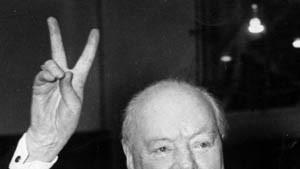 Winston Churchill ist der größte Brite aller Zeiten