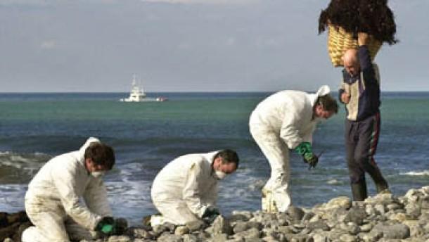 Galicien vor neuer Ölflut