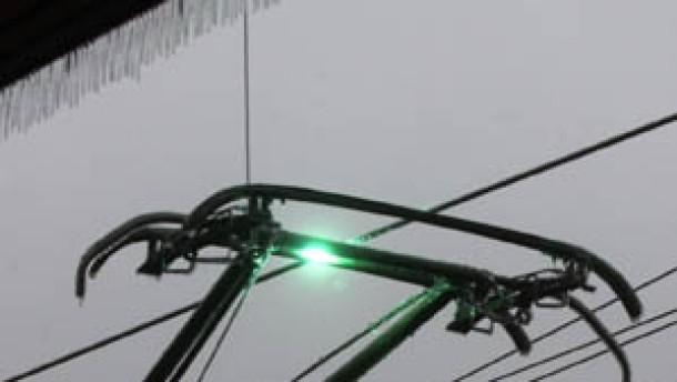 Eisregen legte Bahnverkehr lahm