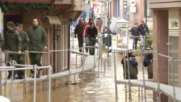 Hochwasser: Das Schlimmste ist überstanden