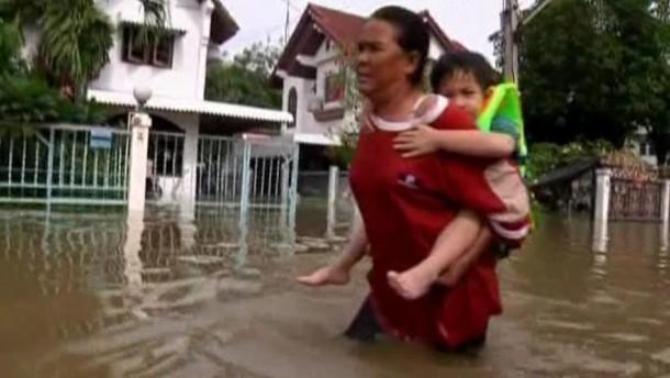 Bangkok wartet auf die große Flut