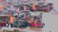 Die Menschen in Thailand kämpfen weiter gegen die nicht enden wollenden Überflutungen.