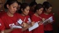 Hausmädchen für die ganze Welt - von den Philippinen