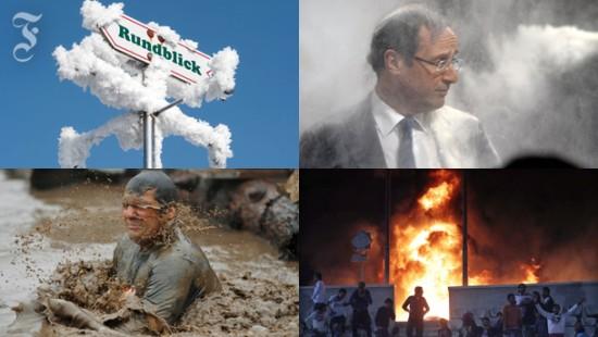 Attacken und Aufstände