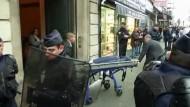 Frankreichs Innenminister spricht von einer eindeutigen Exekution.