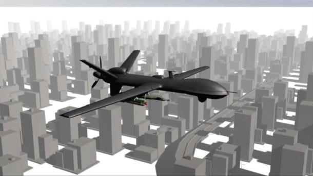 Kampfdrohnen: Luftangriff aus der Ferne (Videografik)