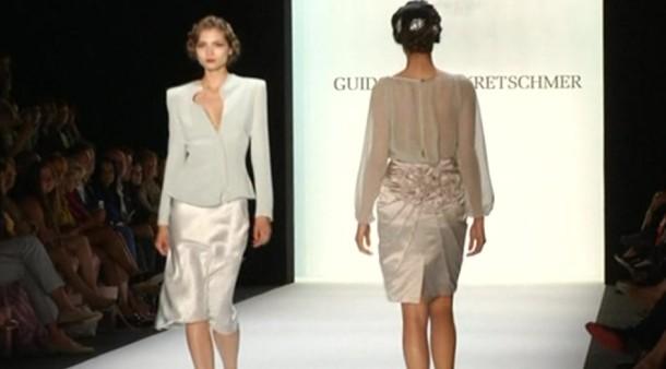 mercedes benz fashion week elegant und weiblich guido maria kretschmer stellt kollektion vor. Black Bedroom Furniture Sets. Home Design Ideas