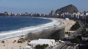 Leichenteile an der Copacabana angespült