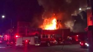 Mindestens neun Tote bei Feuer auf Party in Kalifornien