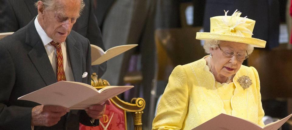 Grosser Gottesdienst Zu Queen Elizabeths 90 Geburtstag