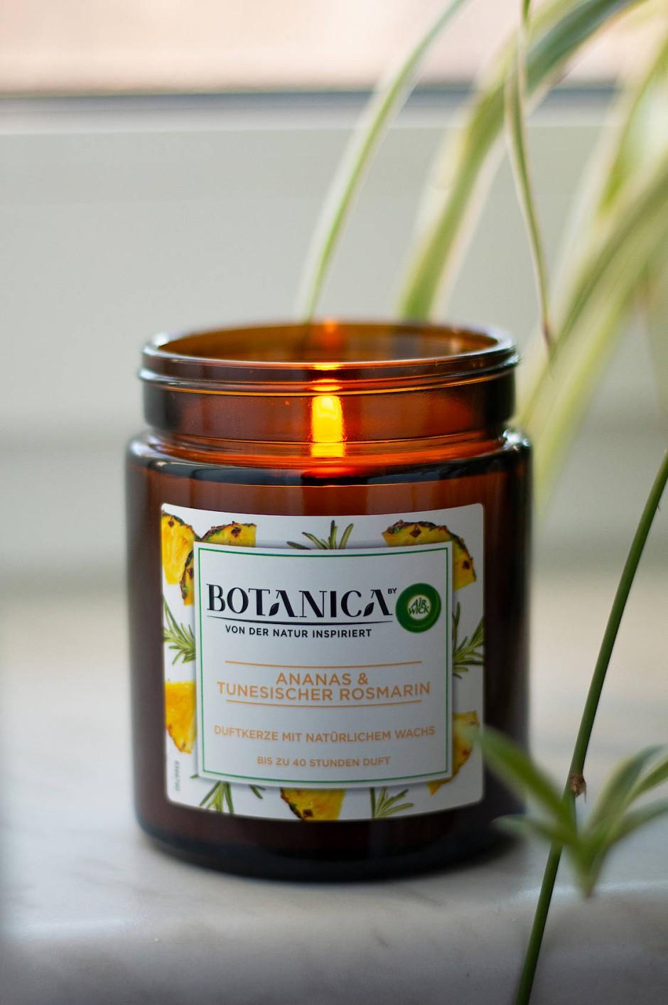 Ananas, aber als Kaugummiaroma: Botanica by Air Wick