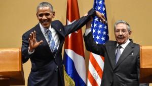 """Fidel Castro spottet über """"honigsüße Worte"""" von Obama"""