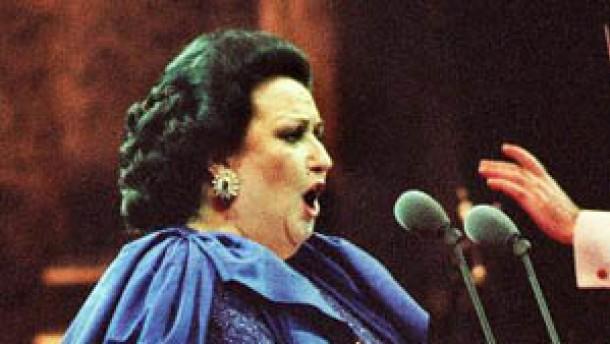 Notlandung verschlug Montserrat Caballé nicht die Stimme