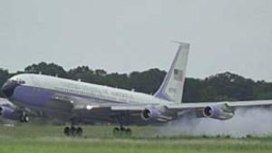 Abschiedsflug der Air Force One