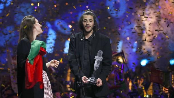 Portugal gewinnt den Song Contest