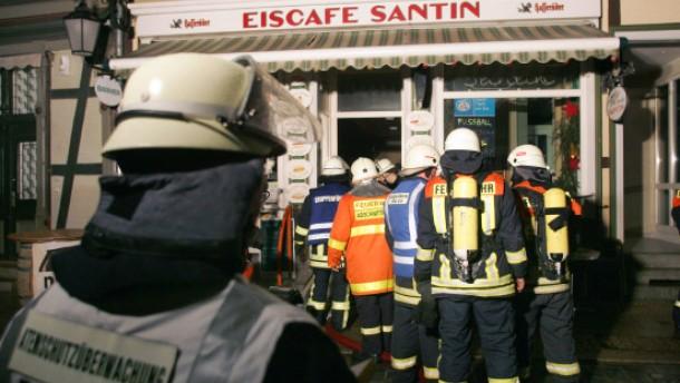 Weihnachtsmarkt nach Explosion geräumt