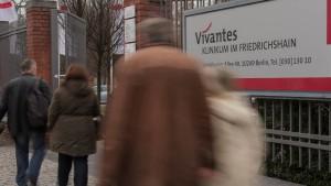 Wieder Frühchen in Berlin erkrankt