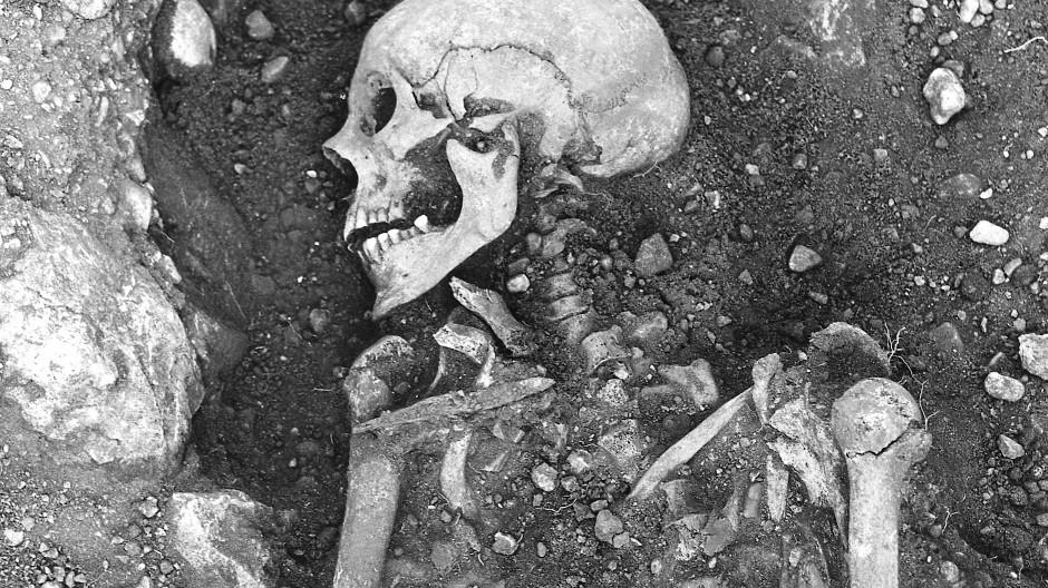Forscher entdeckten auf der schwedischen Insel Öland ein ursprünglich mit Pocken infiziertes Wikinger-Skelett.