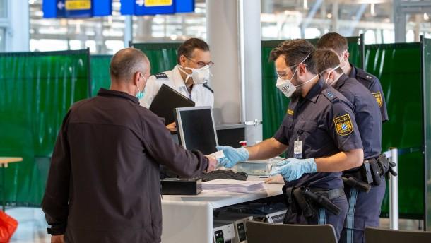 Bundespolizei soll Reisedaten auf falsche Angaben prüfen