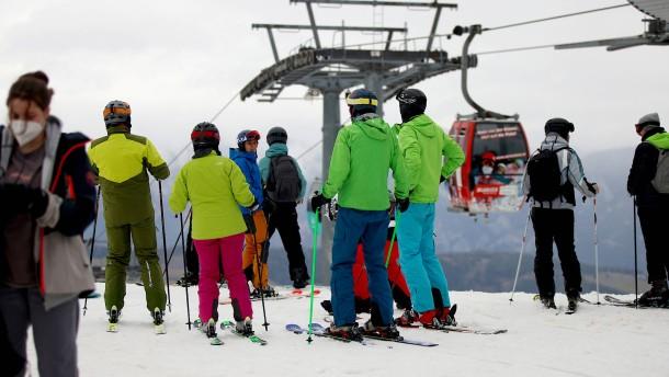 Ansturm auf österreichische Skigebiete