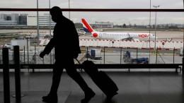 Frankreich unterbricht Flugverkehr mit Brasilien