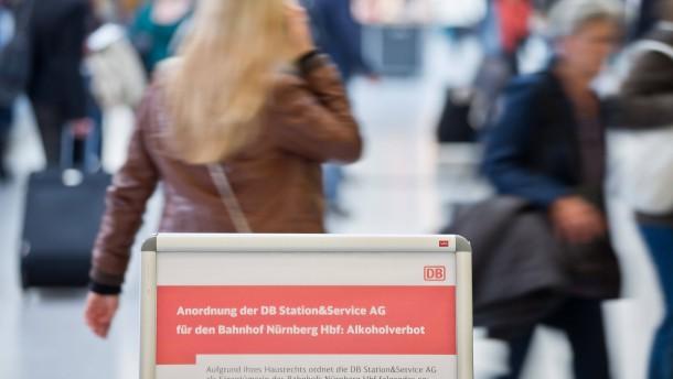 Deutsche Bahn wehrt sich gegen Partyszene