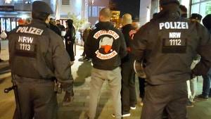 """Razzia gegen Rockergruppe """"Osmanen"""""""
