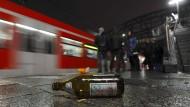Das Alkoholverbot am Münchner Hauptbahnhof gilt auch in den angrenzenden Straßen.