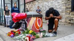 Schwarzer Verdächtiger stirbt nach Polizeieinsatz