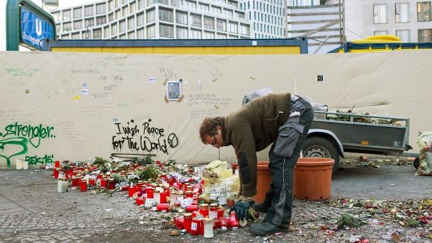 Gedenken an die Terroropfer von Berlin