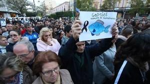 Spanier trauern um ermordeten Jungen