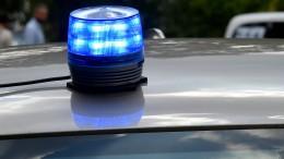 B44 nach Unfall mit sechs Fahrzeugen gesperrt