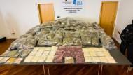 Anfang Juni hatte eine Ermittlungsgruppe des Landeskriminalamts Rheinland-Pfalz 650 Kilogramm Rauschgift sichergestellt.
