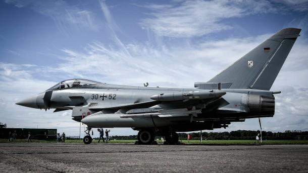 Eurofighter-Pilot mit Laserpointer geblendet