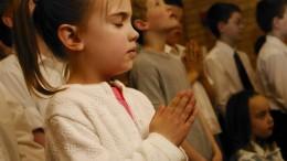 Mama, das ist doch normal, dass wir beten, oder?