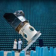 Dieser Cheops-Satellit soll das Weltraumteleskop der ESA ins All bringen.