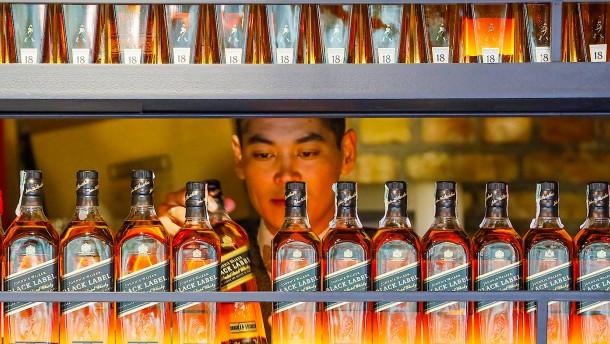 Brite will sich Haus kaufen – mit Verkauf von Whisky-Flaschen
