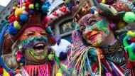 Keine Spaßbremsen: Vertreter des Straßenkarnevals.