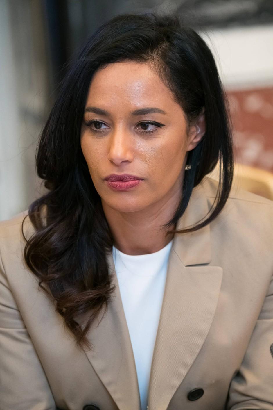 Umstrittene Moderatorin: die israelisch-italienische Journalistin Rula Jebreal