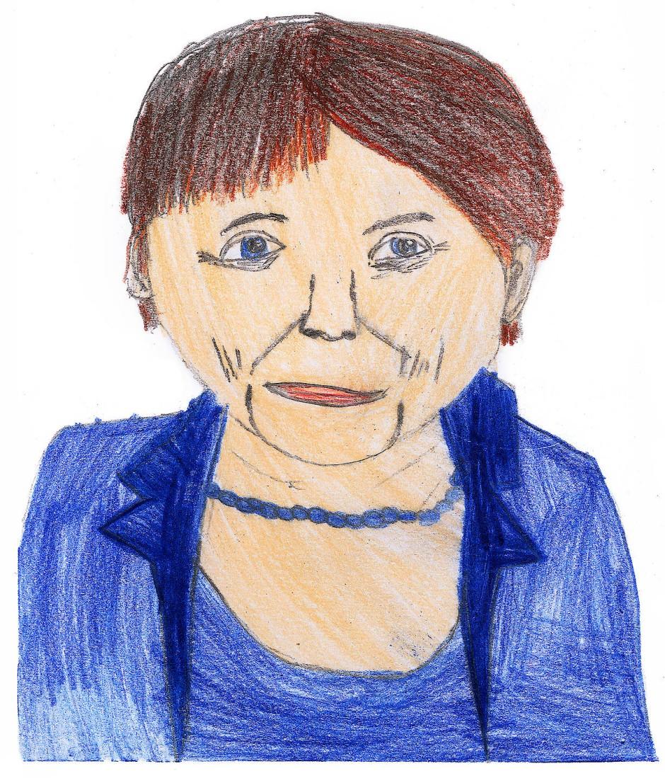 """""""Angela Merkel hat einfach keinen Style."""" (Mathilda, 11 Jahre)"""