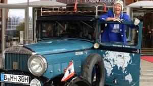 Motorsportlegende als Fahranfängerin eingestuft