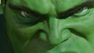 Das Gefühl aus der Haut zu fahren: Comic-Figur Hulk ist ein harmloser Wissenschaftler. Wird er wütend, verwandelt er sich in den gefährlichen Kraftprotz.