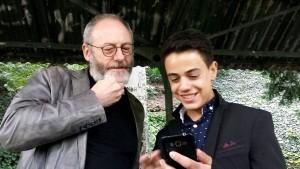 Game of Thrones-Star besucht jungen Syrer