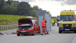 Einsatzkräfte nach tödlichem Unfall auf Autobahn beschimpft