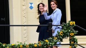 Herzogin Kate unterwegs als Vermittlerin