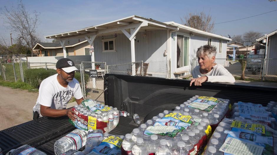 Mangelnde Trinkwasserversorgung in Amerika