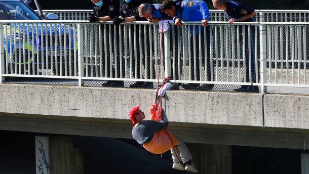 Polizei ermittelt gegen Demonstranten