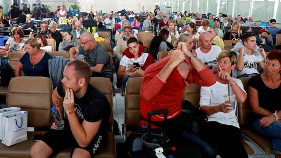 Deutsche sitzen in Bangkok fest