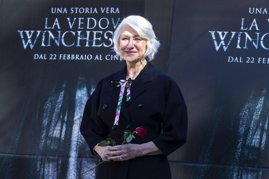 """Helen Mirren auf einem Fototermin für den Film """"Winchester: Haus der Verdammten"""""""