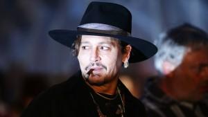 Johnny Depp ist am Filmset ausgerastet